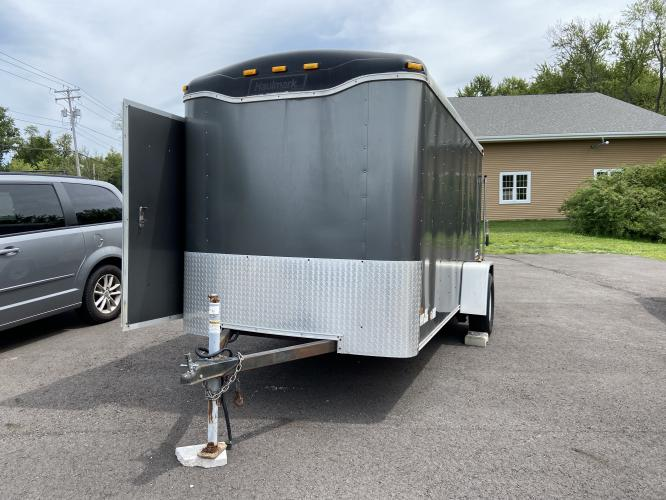 2008 White Haulmark Trailer (16HCB12198H) , located at 11115 Chardon Rd. , Chardon, OH, 44024, (440) 214-9705, 41.580246, -81.241943 - Photo #0