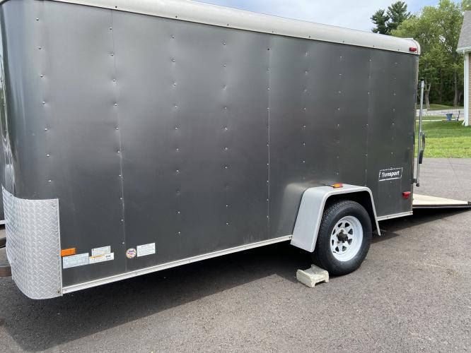 2008 White Haulmark Trailer (16HCB12198H) , located at 11115 Chardon Rd. , Chardon, OH, 44024, (440) 214-9705, 41.580246, -81.241943 - Photo #11
