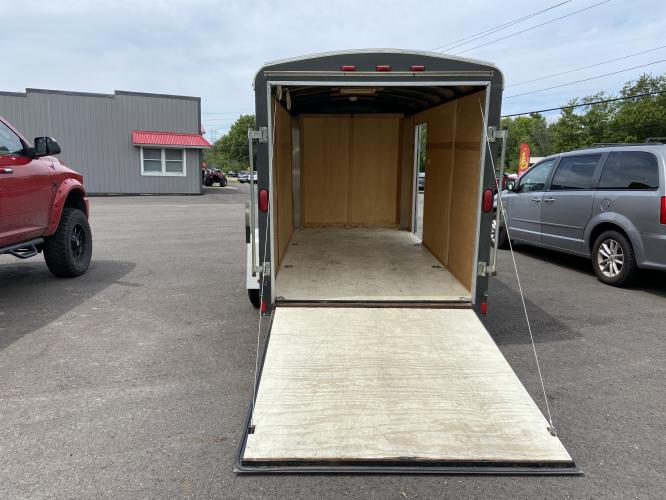2008 White Haulmark Trailer (16HCB12198H) , located at 11115 Chardon Rd. , Chardon, OH, 44024, (440) 214-9705, 41.580246, -81.241943 - Photo #8