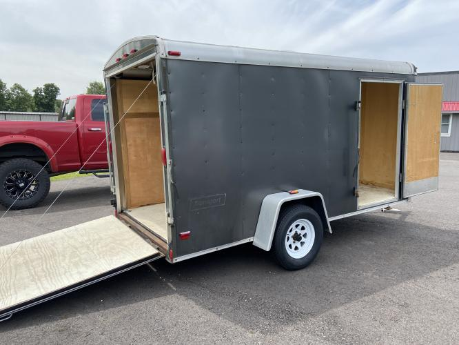 2008 White Haulmark Trailer (16HCB12198H) , located at 11115 Chardon Rd. , Chardon, OH, 44024, (440) 214-9705, 41.580246, -81.241943 - Photo #6