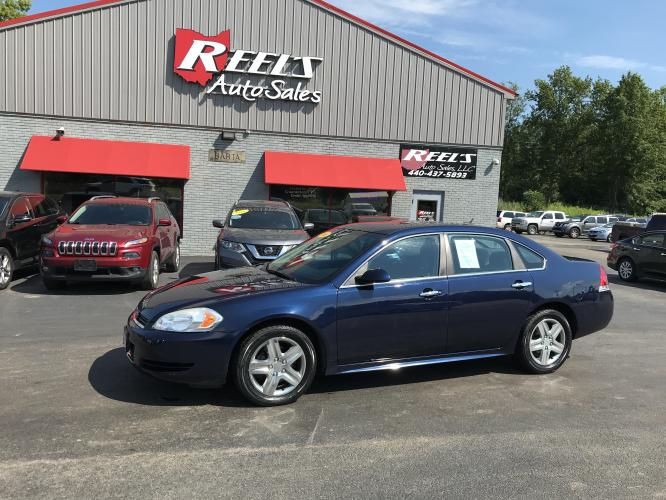2010 Blue /Black Chevrolet Impala LS (2G1WA5EN7A1) with an 3.5L V6 OHV 16V engine, 4-Speed Automatic transmission, located at 547 E. Main St., Orwell, OH, 44076, (440) 437-5893, 41.535435, -80.847855 - Photo #0