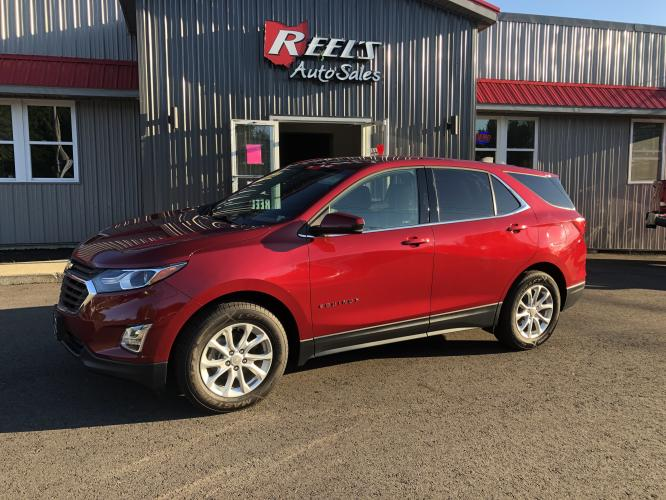 2018 Red /Black Chevrolet Equinox LT AWD (2GNAXSEV5J6) with an 1.5L L4 DIR DOHC 16V TURBO engine, Automatic transmission, located at 11115 Chardon Rd. , Chardon, OH, 44024, (440) 214-9705, 41.580246, -81.241943 - Photo #0