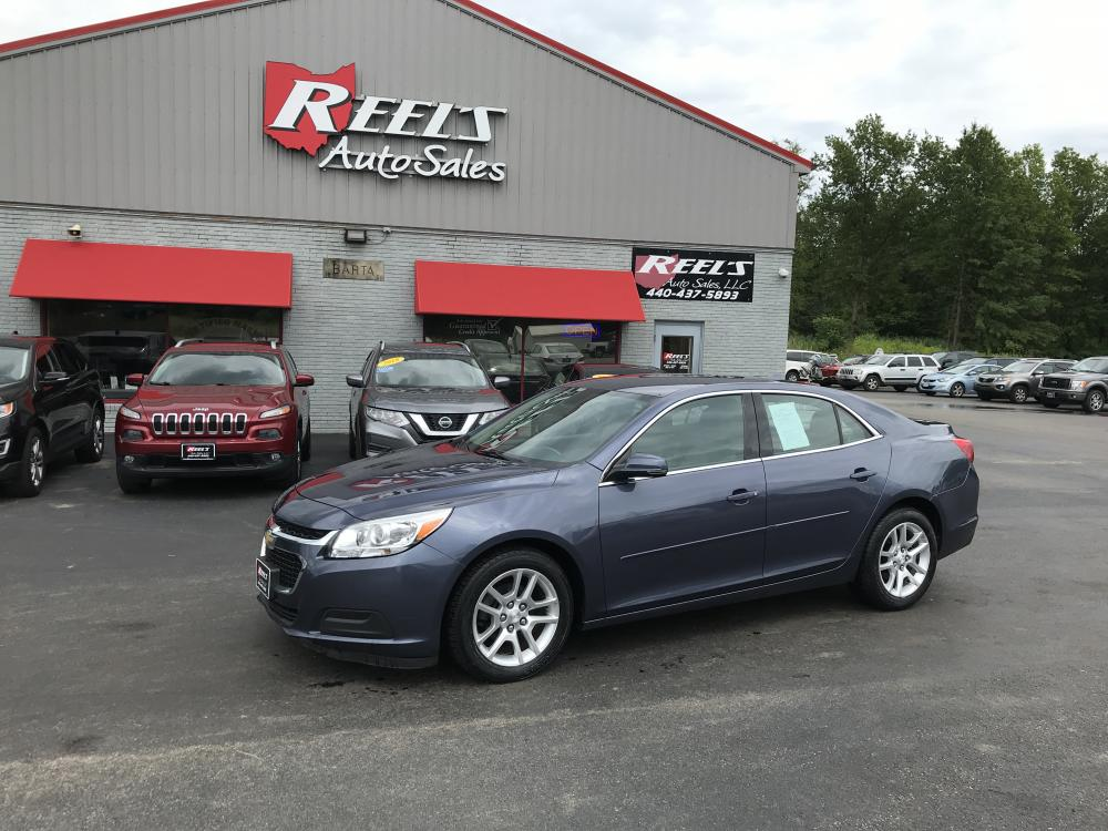 2014 Blue Chevrolet Malibu 1LT (1G11C5SL0EF) with an 2.5L L4 DOHC 16V engine, 6-Speed Automatic transmission, located at 547 E. Main St., Orwell, OH, 44076, (440) 437-5893, 41.535435, -80.847855 - Photo #0