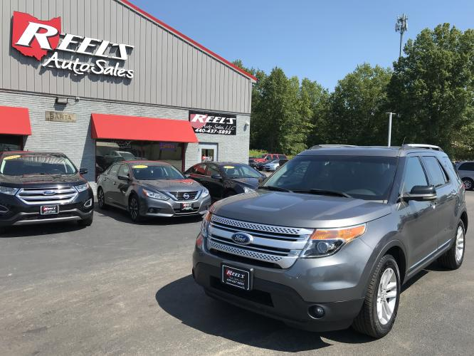 2012 Silver /Gray Ford Explorer XLT 4WD (1FMHK8D83CG) with an 3.5L V6 DOHC 24V engine, 6-Speed Automatic transmission, located at 11115 Chardon Rd. , Chardon, OH, 44024, (440) 214-9705, 41.580246, -81.241943 - Photo #0