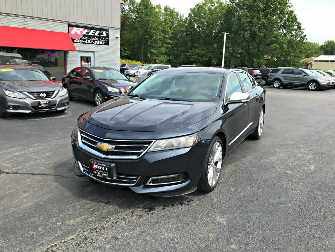 2014 Black /Black Chevrolet Impala 2LZ LTZ (2G1155S33E9) with an 3.6L V6 DOHC 16V FFV engine, Automatic transmission, located at 547 E. Main St., Orwell, OH, 44076, (440) 437-5893, 41.535435, -80.847855 - Photo #0