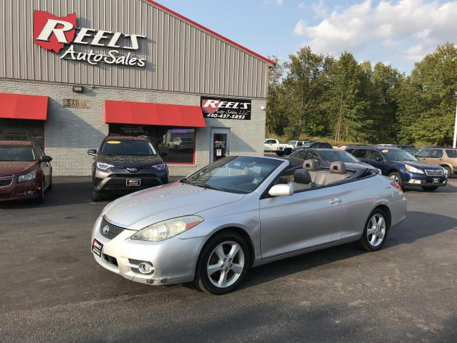 2007 Silver /Gray Toyota Camry Solara SE Convertible (4T1FA38P07U) with an 3.3L V6 DOHC 24V engine, Automatic transmission, located at 547 E. Main St., Orwell, OH, 44076, (440) 437-5893, 41.535435, -80.847855 - Photo #0