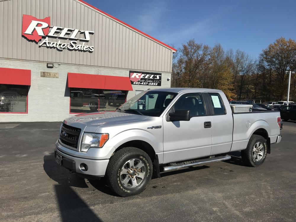 2014 Silver /Gray Ford F-150 FX4 SuperCab 6.5-ft. Bed 4WD (1FTFX1EF5EF) with an 5.0L V8 engine, 6-Speed Automatic transmission, located at 547 E. Main St., Orwell, OH, 44076, (440) 437-5893, 41.535435, -80.847855 - Photo #0