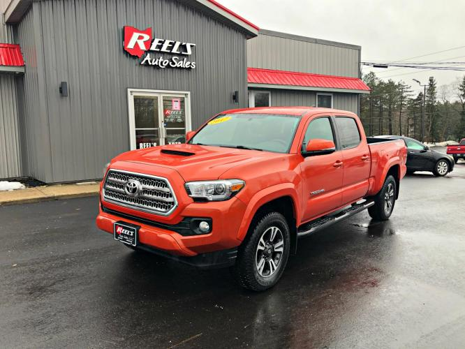 2017 Toyota Tacoma TRD Sport Double Cab Long Bed V6 4WD