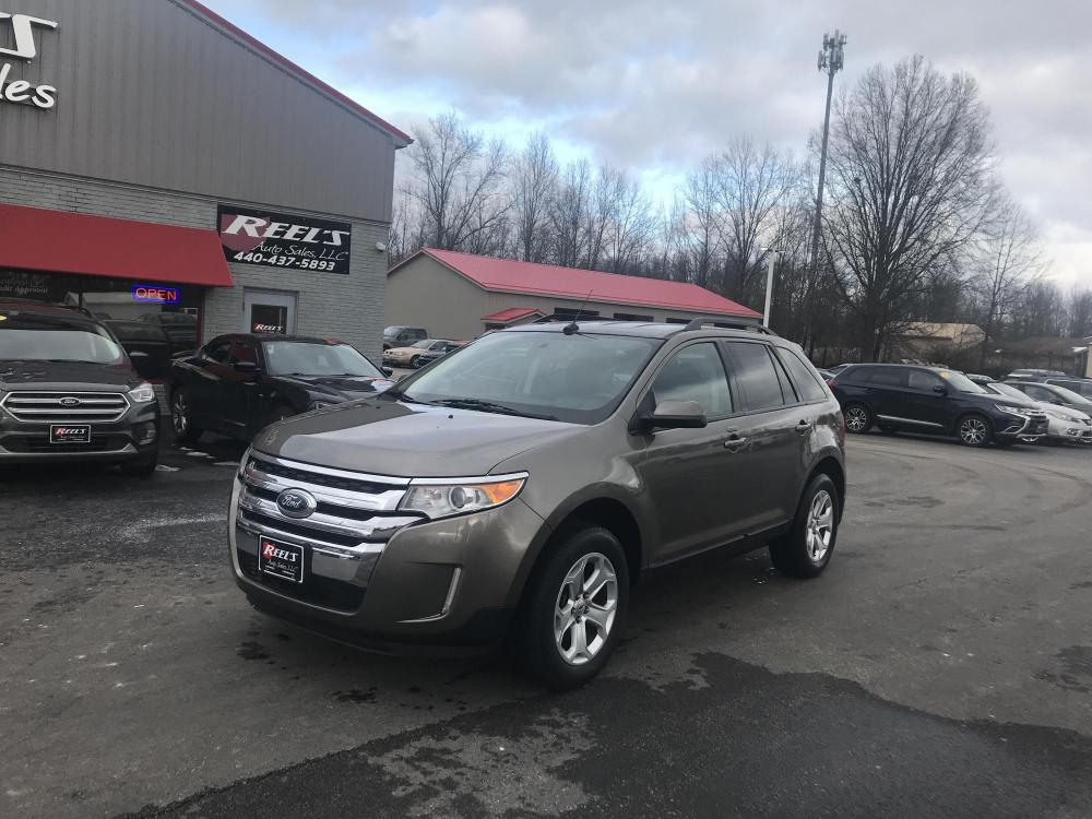 2014 /Black Ford Edge SEL AWD (2FMDK4JC6EB) with an 3.5L V6 DOHC 24V engine, 6-Speed Automatic transmission, located at 547 E. Main St., Orwell, OH, 44076, (440) 437-5893, 41.535435, -80.847855 - Photo #0