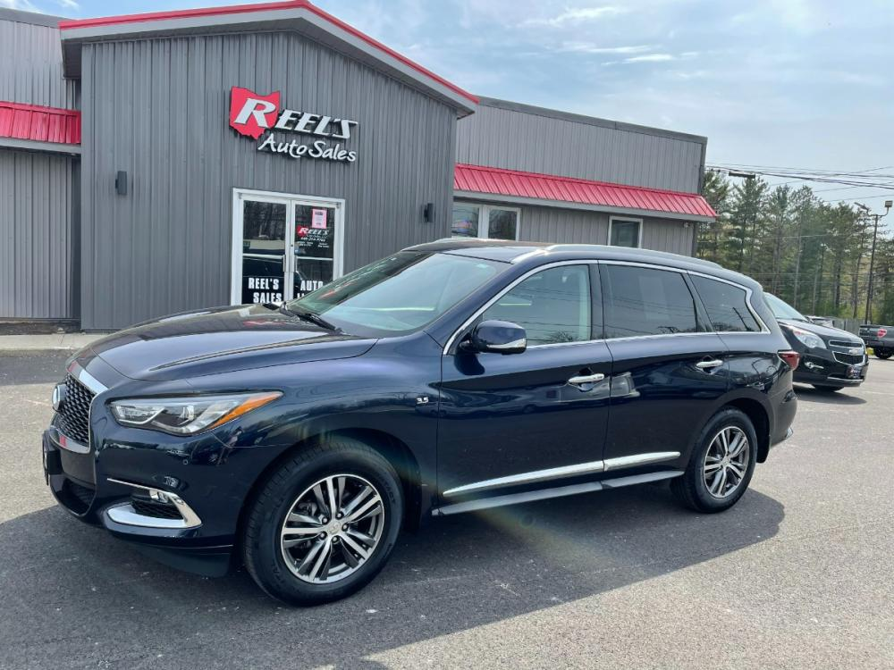 2020 Blue /Black Infiniti QX60 LUXE AWD (5N1DL0MM7LC) with an 3.5L V6 DOHC 24V engine, CVT transmission, located at 11115 Chardon Rd. , Chardon, OH, 44024, (440) 214-9705, 41.580246, -81.241943 - Photo #0